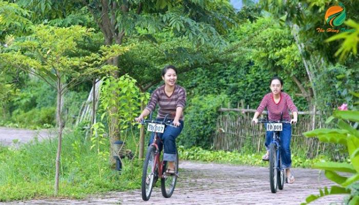 Đạp xe tại Tản Đà Spa & Resort