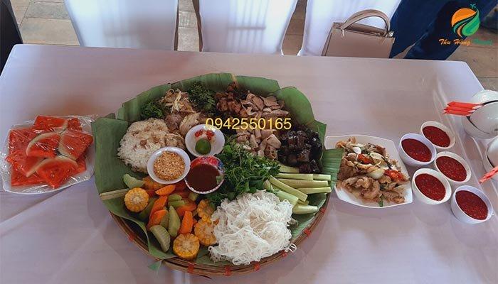 ăn nhà hàng ở Thang Mây Village