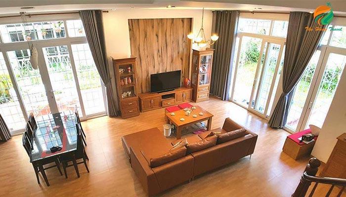Phòng khách tại căn an 2