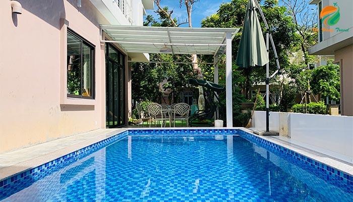 Bể bơi căn An 5 Xanh Villas
