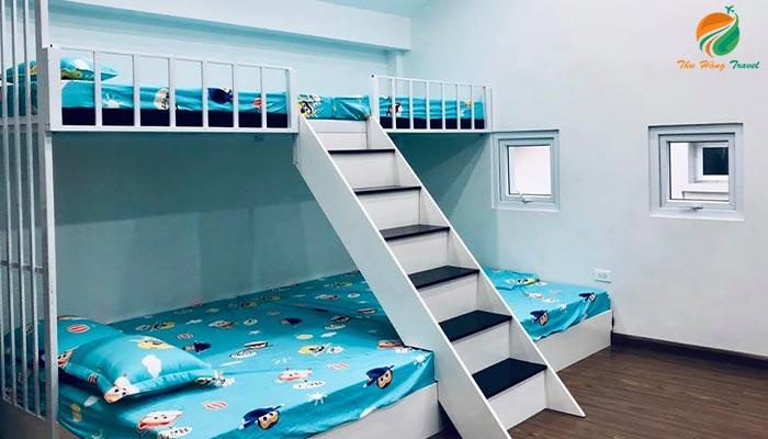 Ảnh giường tầng tại căn An 4 Xanh Villas
