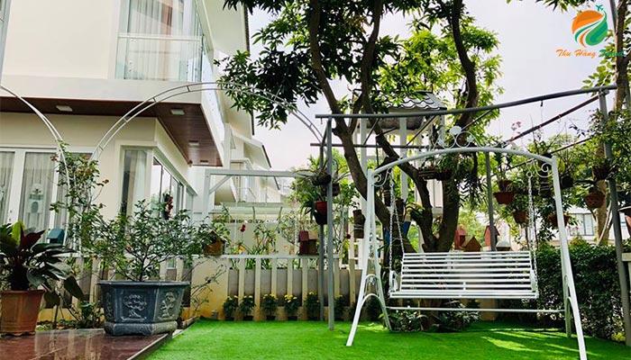 Khuôn viên căn An 3 ở Xanh Villas