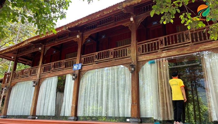 nhà sàn Thiên Sơn Suối Ngà