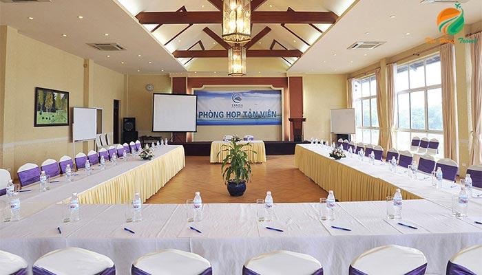 Phòng hội thảo ở khu du lịch