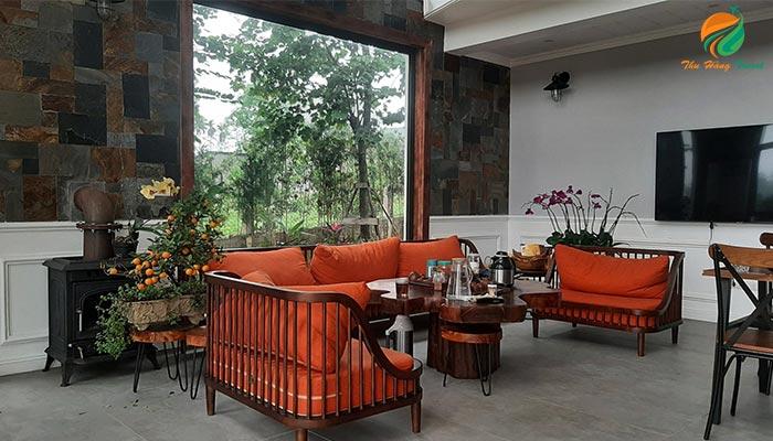 Phòng khách ở Jacaranda Resort