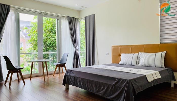 Phòng nghỉ ở Xanh Villas Resort