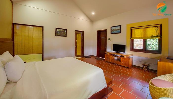 Phòng nghỉ tại Resrot Thảo Viên - Ba Vì