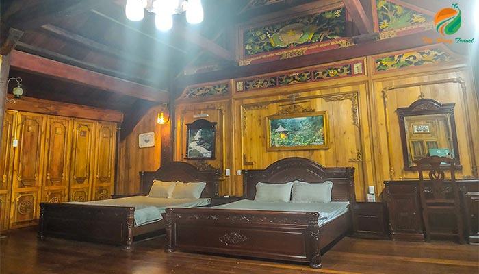 Phòng nghỉ tại Medi Thiên Sơn