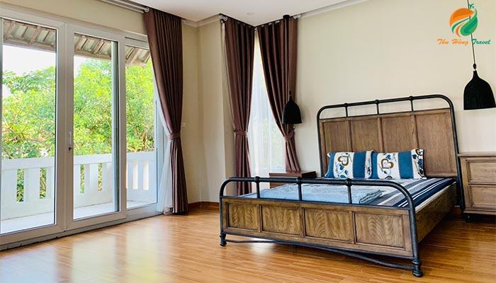 Phòng ngủ tại Xanh Villas