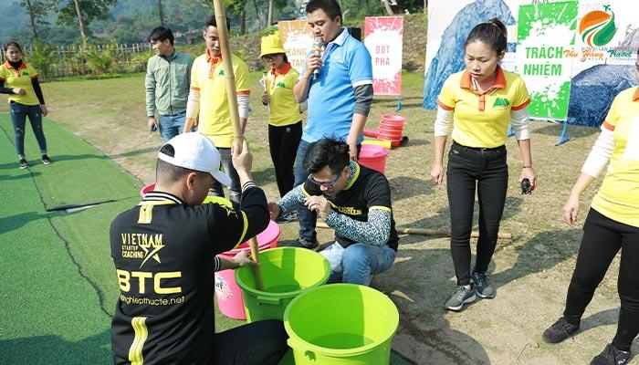 teambuilding sinh viên Ba Vì
