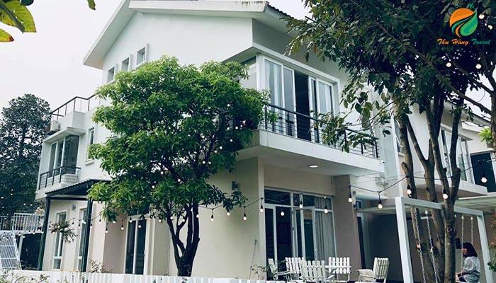 Toàn cảnh căn An 4 ở Xanh Villas Resort