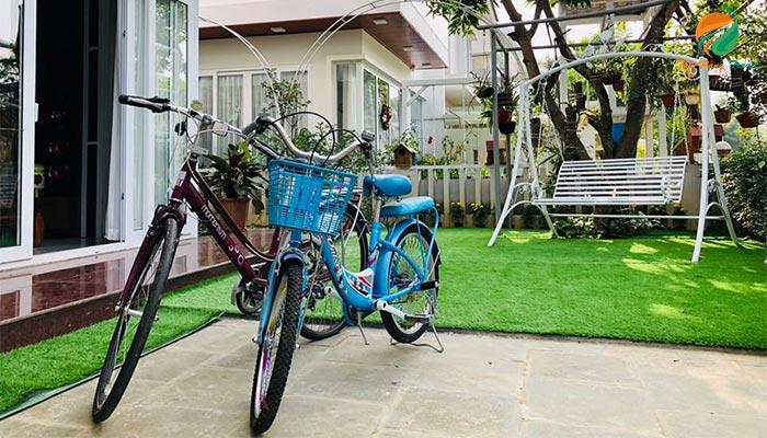 Xe đạp ở căn An 3