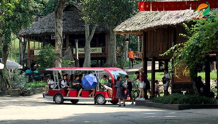 Xe điện tại Paragon Resrot