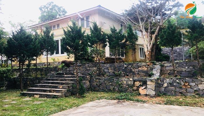 Biệt thự ở Bella Resort - khu cho thuê villa ở ba vì