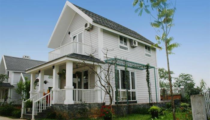 Căn biệt thự Green Villa ở Family Resort
