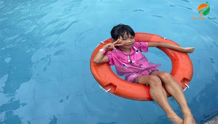 Tắm khoáng ở Tản Đà Spa Resort - Địa điểm du lịch Ba Vì