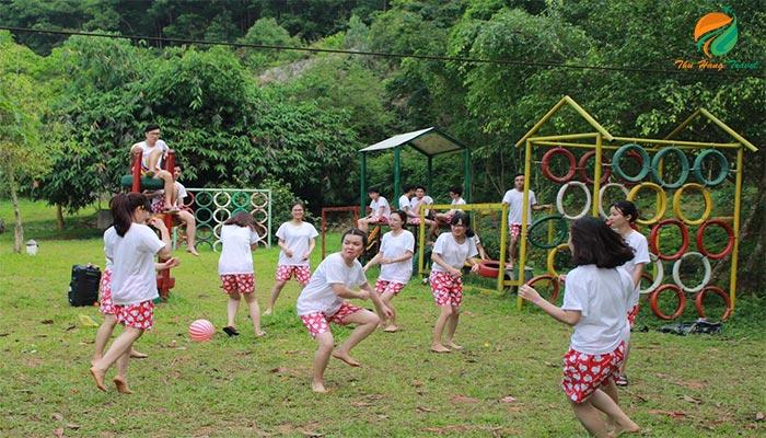 Không gian vui chơi ở Bella Resort