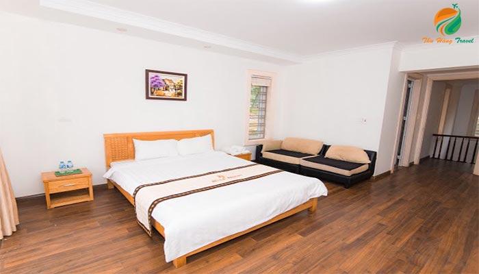 Phòng tại các căn villa ở Bella Resort