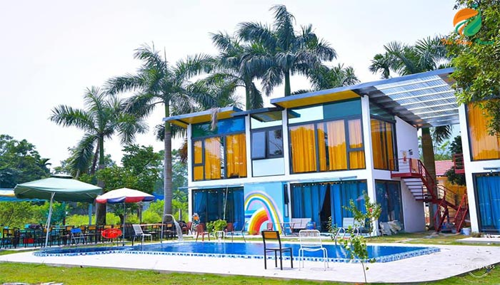 Các khu Villa có bể bơi ở Ba Vì giá rẻ