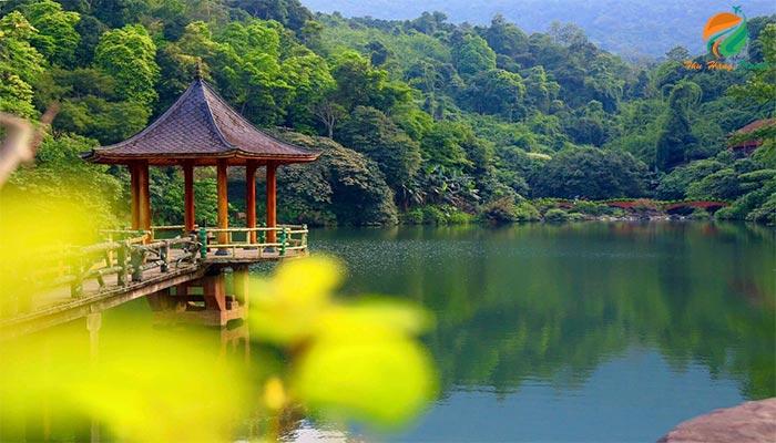 Ngắm cảnh tại Hạ Sơn - du lịch sinh thái ba vì