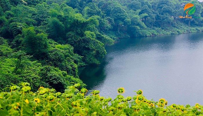 Một góc Hạ Sơn ở Medi Thiên Sơn