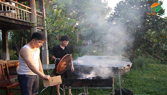 Cùng nhau tổ chức những bữa tiệc nướng BBQ ngoài trời