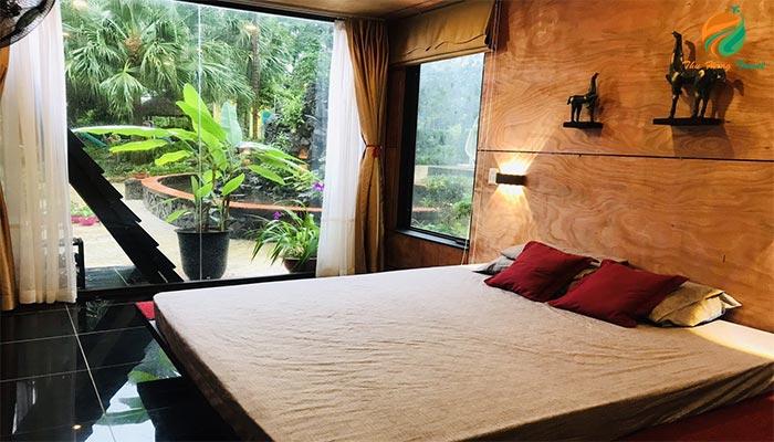 Phòng tại Mit Hilltop - khu cho thuê villa ở ba vì