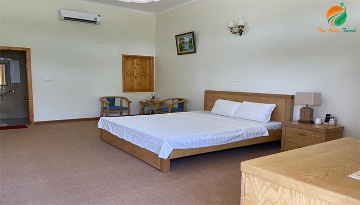 Phòng nghỉ tại khu du lịch
