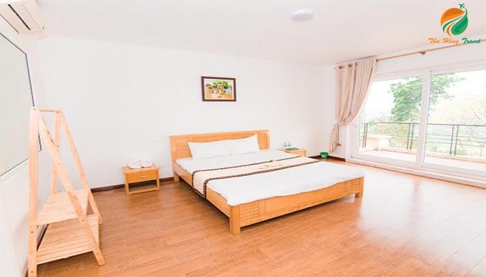 Phòng ngủ ở Bella Resort - Green Villas Ba Vì