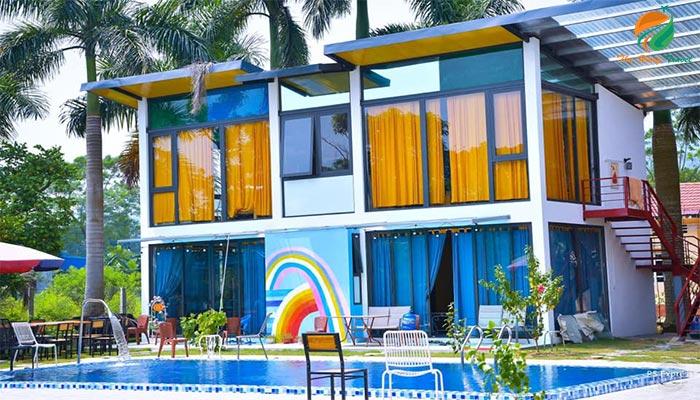Villa ở Ba Vì có bể bơi