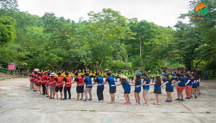Chương trình Team Building ở Khoang Xanh