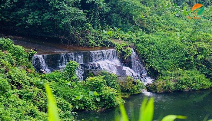 Tham quan suối thác ở Trung Sơn - du lịch sinh thái ba vì
