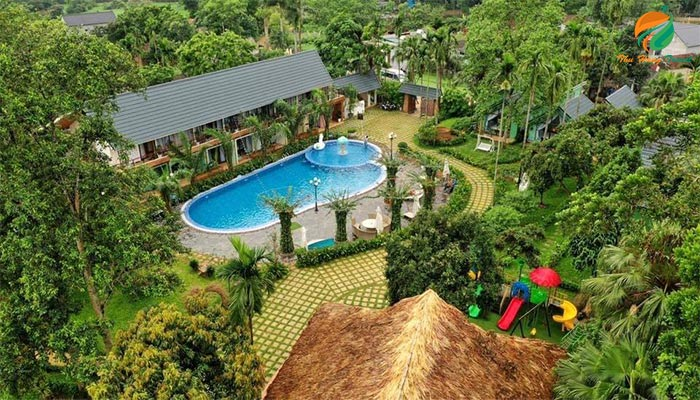 Villa có bể bơi ở Ba Vì giá hấp dẫn