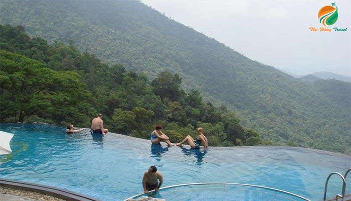 Bể bơi vô cực ở Belvedere Tam Đảo