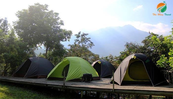 Cắm trại dã ngoại ở Ba Vì ngày cuối tuần