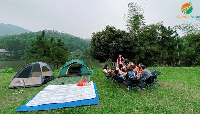 Cắm trại ở Thung Lũng Bản Xôi