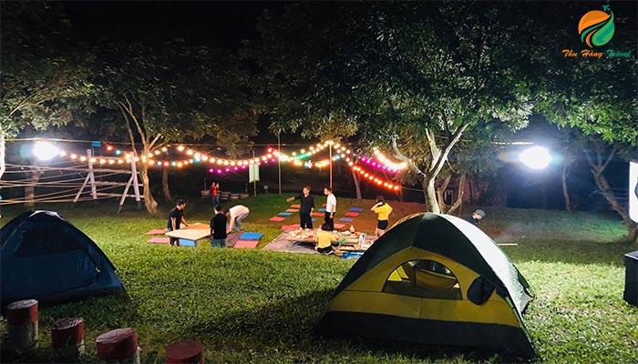 Cắm trại dã ngoại ở Sơn Tinh Camp