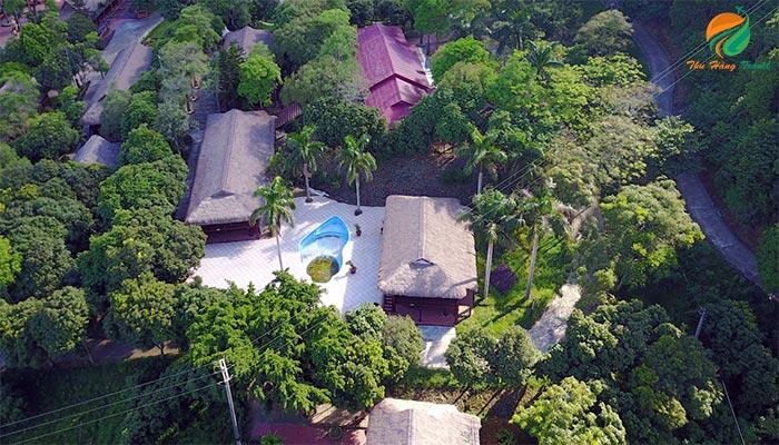 Khung cảnh của Paragon Resort - nơi cho thuê hội thảo ở Ba Vì