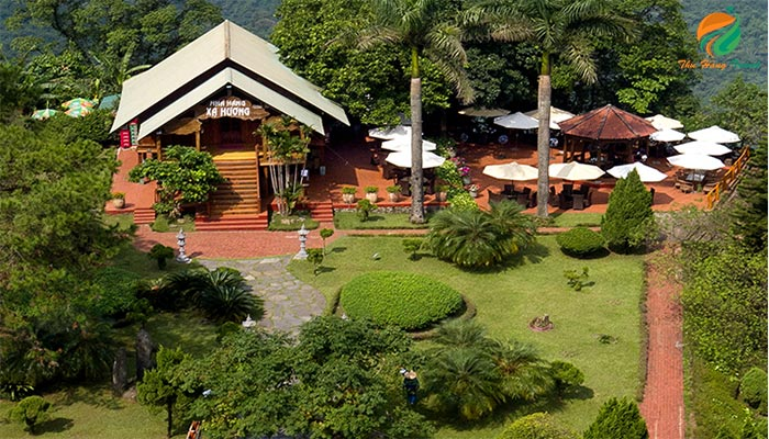 Phong cảnh khu Ba Vì Resort