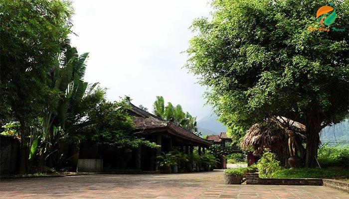 Không gian ở khu homestay Long Việt 2