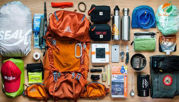 Chuẩn bị đồ dùng cho chuyến đi dã ngoại cắm trại