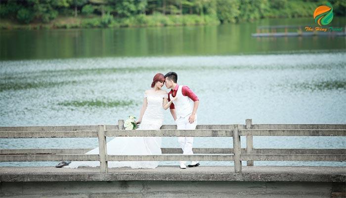 Chụp ảnh cưới ở Medi Thiên Sơn Ba Vì