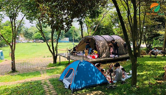 Sơn Tinh Camp Ba Vì thích hợp cho chuyến đi picnic gia đình