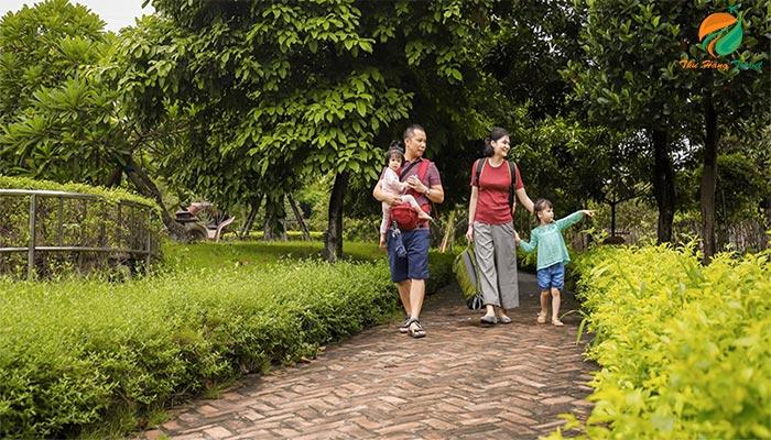 Nông trại Dê Trắng địa điểm thích hợp cho cả gia đình
