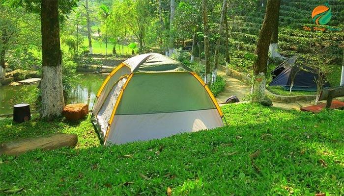 Cắm trại ở Hồ Đồng Mô Ba Vì