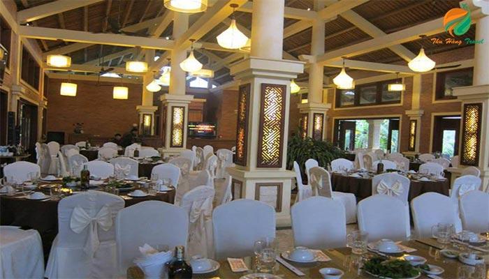 Hệ thống nhà hàng ở khu sang trọng và lịch sự