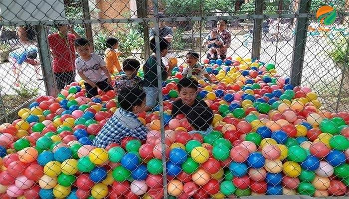 Không gian vui chơi ở Family Resort - địa điểm gần resort 5 sao Ba Vì