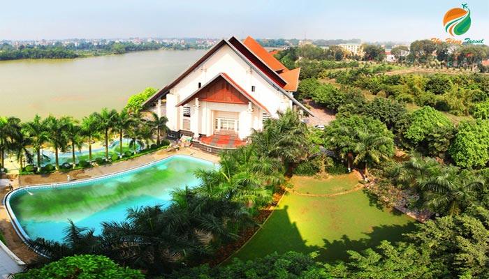 Sông Hồng Resort đang nhận được sự quan tâm của du khách
