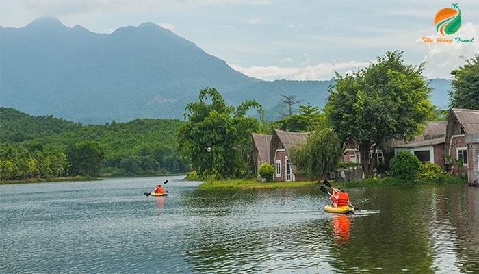 Tản Đà Spa Resort một trong những resort gần Hà Nội