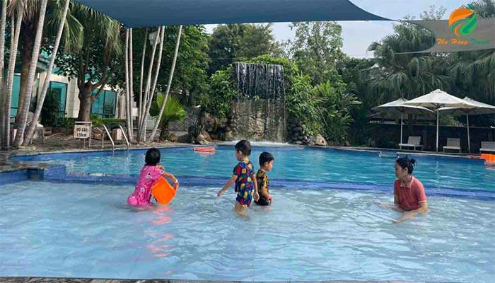Tản Đà Spa Resort - bản đồ du lịch Ba Vì